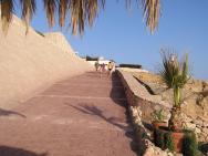 Přístupová cesta k pláži