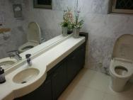 toalety v přízemí