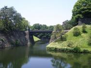 Tokio - most k císařskému paláci