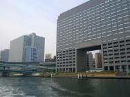 výhledy na Tokio z řeky Sumida