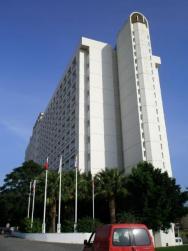hlavní budova hotelu