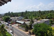 výhled z chodby hotelu