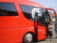 Náš autobus autobus Pilgrimu