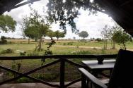 Ubytování v rámci safari