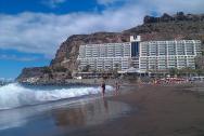 pláž Taurito (první únorový týden t.r.)