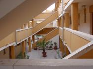 vnitřní vstup do apartmánů