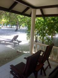 klasický plážový bungalov