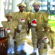 Svatebčané v našem hotelu.