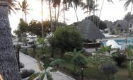 Pohled z našeho balkonu.