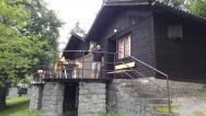 Pohled na bungalov