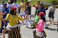 Tradiční tuniské uvítání s tancem