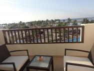 Prostorný balkon a výhled
