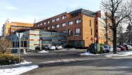 Moderná budova hotela