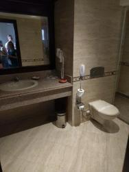 Koupelna na pokoji.