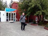 vchod do hostelu