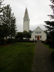 kostelík v Selfossu